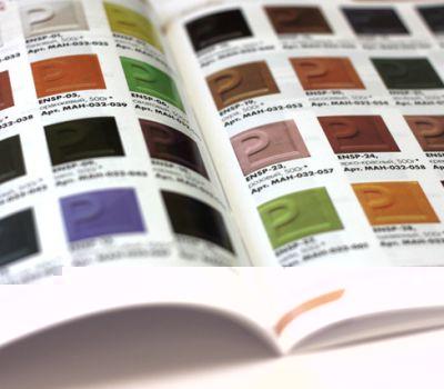 Печать полноцветного красочный каталог товаров