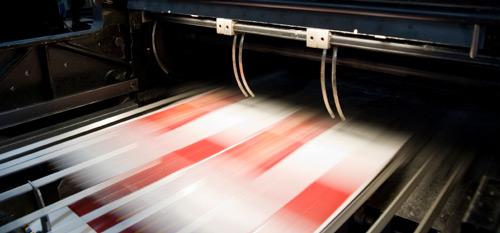 печать листовок
